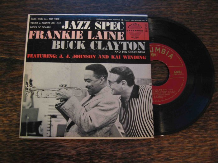 Frankie Laine & Buck Clayton 45 EP in picture sleeve
