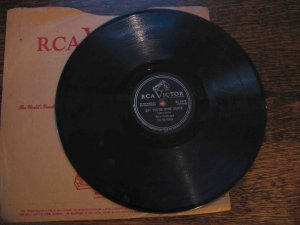 """Perry Como 78 rpm record, """"Say You're Mine Again"""" b/w """"My One and Only Heart"""""""