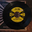 "Les Paul & Mary Ford 45rpm, ""Put a Ring on My Finger"" b/w ""Fantasy"""