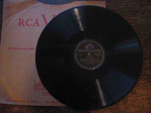 """Muggsy Spanier 78 rpm record, """"Eccentric"""" b/w """"Livery Stable Blues"""""""