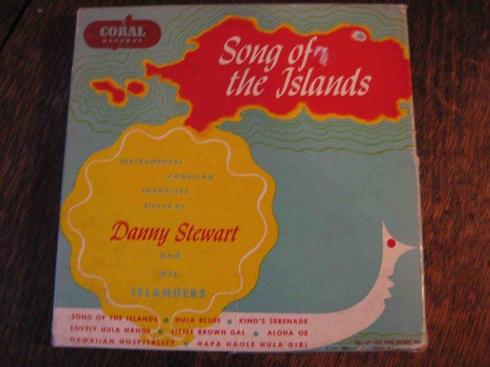 "Danny Stewart box set of Hawaiian 45s, ""Song of the Islands"" (1952)"