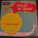 "Danny Stewart box set of Hawaiian 45s, ""Song of the Islands"" (1952)"