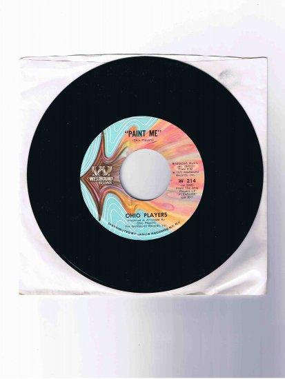 "Ohio Players 45rpm single, ""Paint Me"" b/w ""Funky Worm"" (1973)"