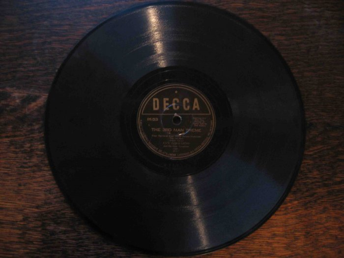 "Guy Lombardo 78rpm single, ""The 3rd Man Theme"" b/w ""Cafe Mozart Waltz"""