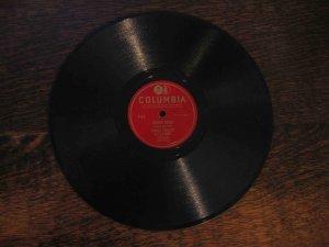 """Frankie Yankovic 78 rpm single, """"Shandy Polka"""" b/w """"Happy Hour"""""""
