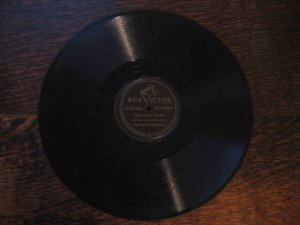 "Six Fat Dutchmen 78 rpm single, ""Old Lady Polka"" b/w ""Saturday Waltz"""
