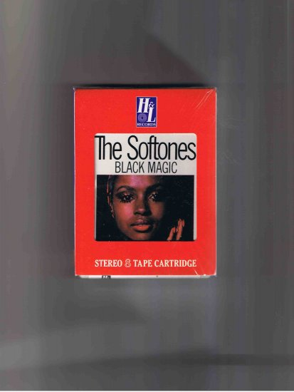 "Softones 8-track tape, ""Black Magic"" brand new! shrink-wrapped"