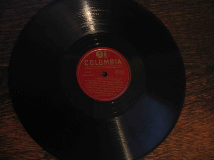 "Duke Ellington 78 rpm record w/Ben Webster, ""Stormy Weather"" b/w ""Sophisticated Lady"""
