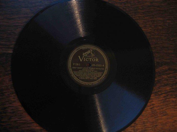 "Duke Ellington 78 rpm record, ""East St. Louis Toodle-oo"" b/w ""The Mooche"""