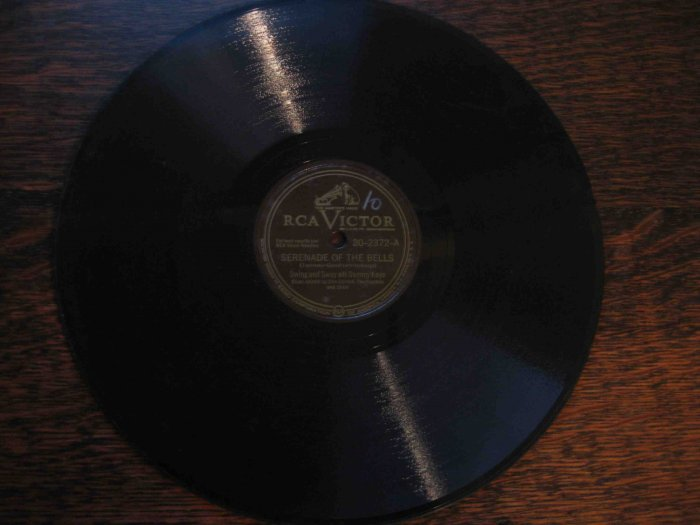 "Sammy Kaye 78 rpm record, ""Serenade of the Bells""/""What Every Young Girl Should Know"""