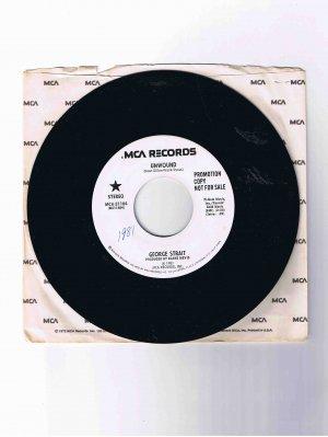 "George Strait 45 rpm single, ""Unwound"" (1981) in sleeve"