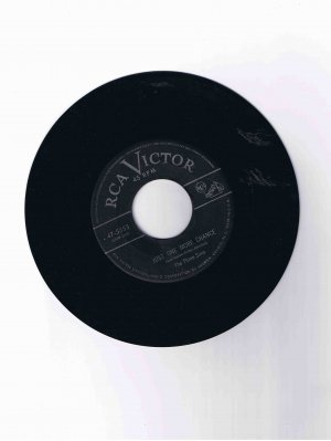 "Three Suns 45 rpm single, ""Just One More Chance"" b/w ""The Creep"""