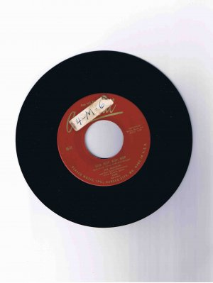 "Mulcays 45 rpm single, ""Bop, Bop, Bop, Bop"" b/w ""Honey"" (Cardinal)"