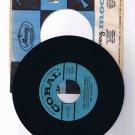 """Big"" Tiny Little 45 rpm single, ""Tiny's Christmas Medley"" b/w ""Silver Bells"""