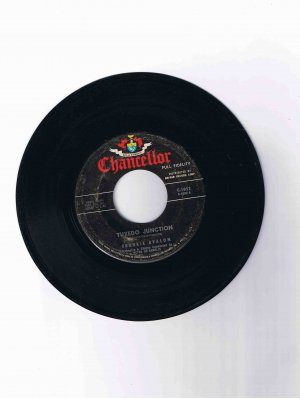 "Frankie Avalon 45 rpm single, ""Tuxedo Junction"" b/w ""Where Are You"" (Chancellor)"