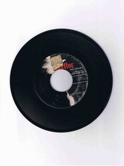 """Fabian 45 rpm single, """"About This Thing Called Love"""" b/w """"String Along"""""""
