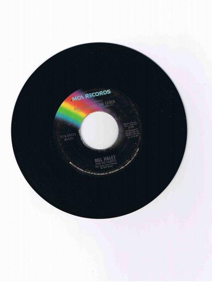 "Bill Haley & His Comets 45 rpm single, ""Rock around the Clock"" b/w ""Thirteen Women"" (MCA)"