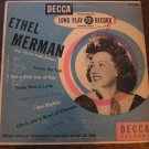 "Ethel Merman: Songs She Has Made Famous (1949) Decca 10"" LP with Cole Porter tunes"