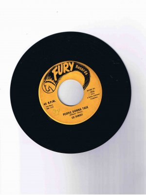 "Lee Dorsey 45 rpm single, ""Do-Re-Mi"" b/w ""People Gonna Talk"" (Fury Records)"