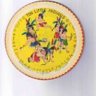"78rpm 7"" children's cardboard picture disk, ""10 Little Indians"" / ""Kitty Cat"" (1948)"