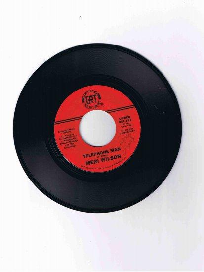 "Meri Wilson 78 rpm single, ""Telephone Man"" / ""Itinerary"" (GRT)"