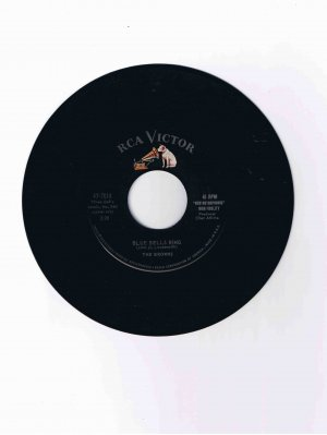 "The Browns 45 rpm single, ""Blue Bells Ring"" / ""Scarlet Ribbons (for Her Hair)"""