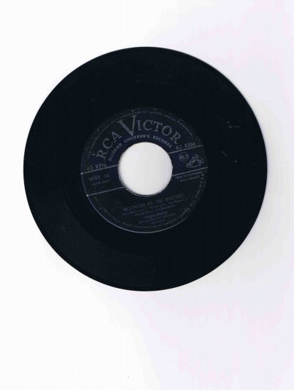 """Vaughn Monroe 45 rpm single, """"Westward Ho, the Wagons!"""" / """"Wringle Wrangle"""""""