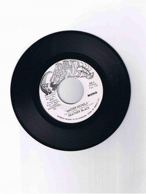 "Heather Black 45 rpm single, ""Master Nichols"" (Double Bayou)"