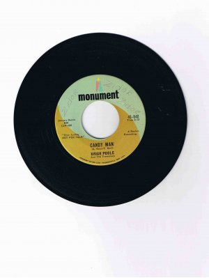 "Brian Poole & the Tremeloes 45rpm single, ""Candy Man"" / ""I Can Dance"""