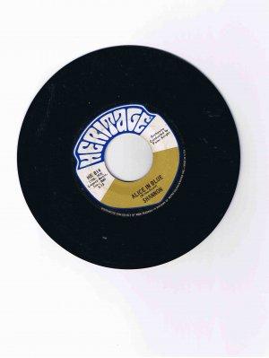 "Shannon 45rpm single, ""Alice in Blue"" / ""Abergavenny"" (Heritage) (EX)"