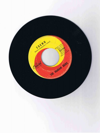 "Human Beinz 45rpm single, ""Sueno""/""Nobody but Me"" (Capitol)"