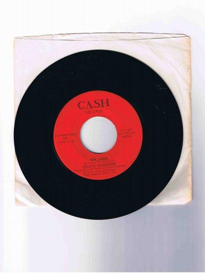 "Dickie Goodman 45rpm single, ""Mr. Jaws"" / ""Irv's Theme"" in sleeve (NM) 1975"