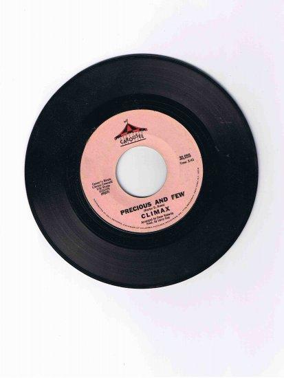 "Climax 45rpm single, ""Precious and Few"" / ""Park Preserve"" (Carousel, 1972)"