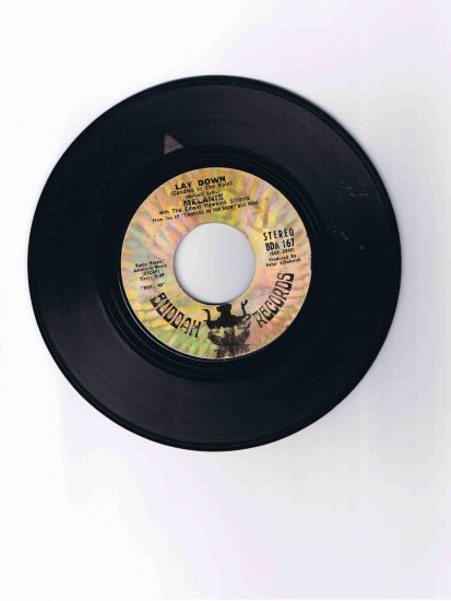 """Melanie 45rpm single, """"Lay Down (Candles in the Rain)"""" (1970 hit)"""