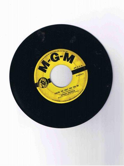 """Johnny Desmond, 45rpm single, """"You're the Only One for Me"""" / """"C'est la Vie"""""""
