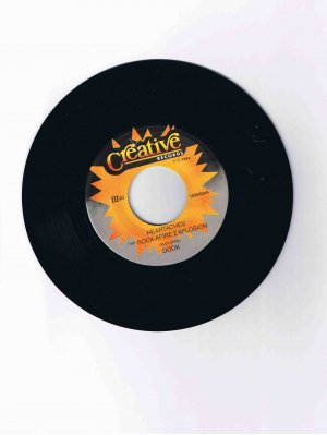 "Rock-afire Explosion 45rpm single, ""Heartaches"" / ""Birthday"" (1983)"