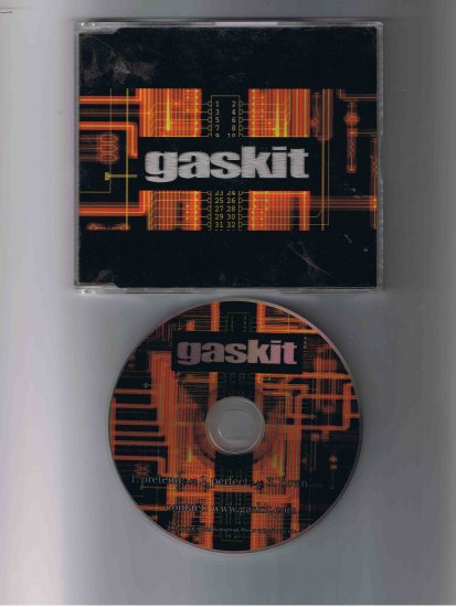 Gaskit CD, 2001 (promotional copy)