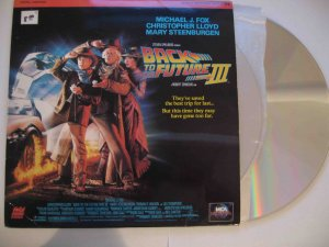 �Back to the Future, Part III� on Digital Laserdisc (1990, 3 disks)