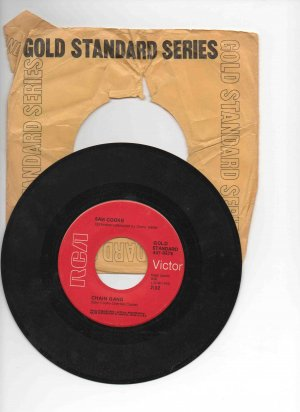 Sam Cooke 45rpm single, �Chain Gang� b/w �Cupid,� NM in sleeve