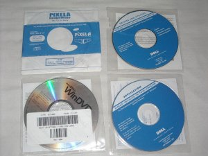 4 Dell Laptop Disc