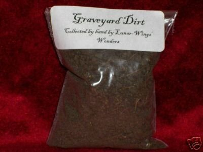 GRAVEYARD DIRT Wicca Spell  Herb