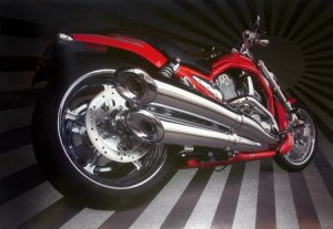 2005 Harley Davidson Screamin Eagle V Rod Poster NEW
