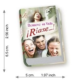 Renew your Life: laugh ...! - Luxury - Mini Book