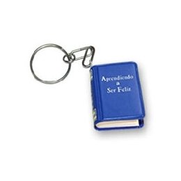 Learning To be Happy - Key ring - Mini Book
