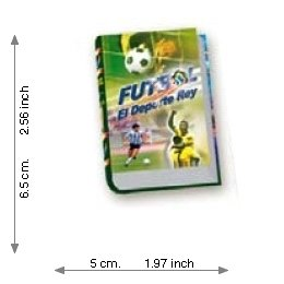 Soccer The Sport King 1 - Luxury - Mini Book