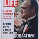 LIFE Magazine March 10, 1972 Marlon Brando as Godfather