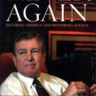 JOHN ASHCROFT Never Again HCDJ 2006 1st Ed NEW