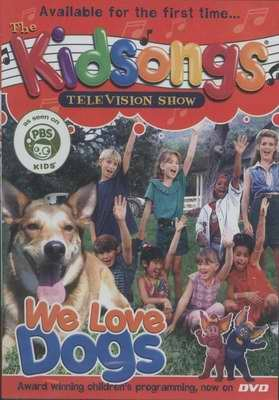 KIDSONGS We Love Dogs DVD - NEW! PBS Kids