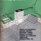 CONCRETE and MASONRY Everyday Handbook 1956