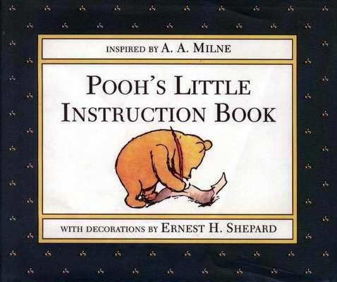 POOH'S Little Instruction Book HCDJ 1995 1st Ed